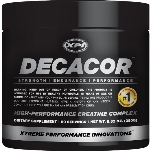 XPI Supplements Decacor Creatine