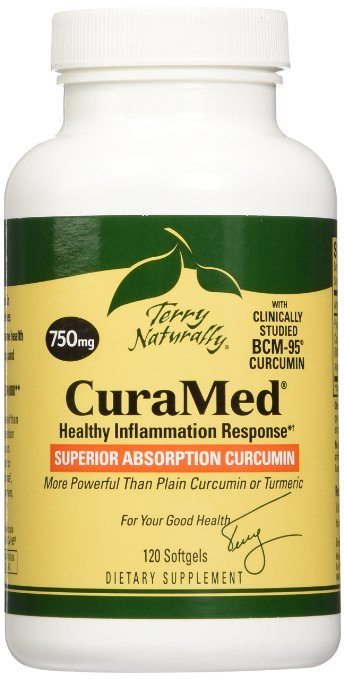 Terry Naturally CuraMed BCM-95 Curcumin - Better than Tumeric