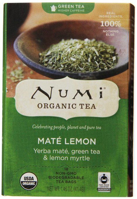 Numi Organic Tea Mate Lemon