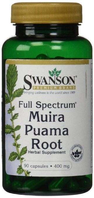Full-Spectrum Muira Puama Root