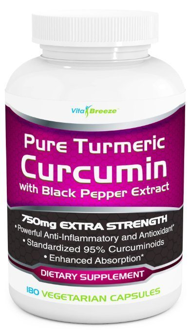 Pure Turmeric Curcumin Complex with Black Pepper Extract