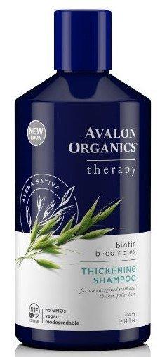 Best Hair Thickening Shampoo for Men Avalon Organics Biotin B-Complex Thickening Shampoo