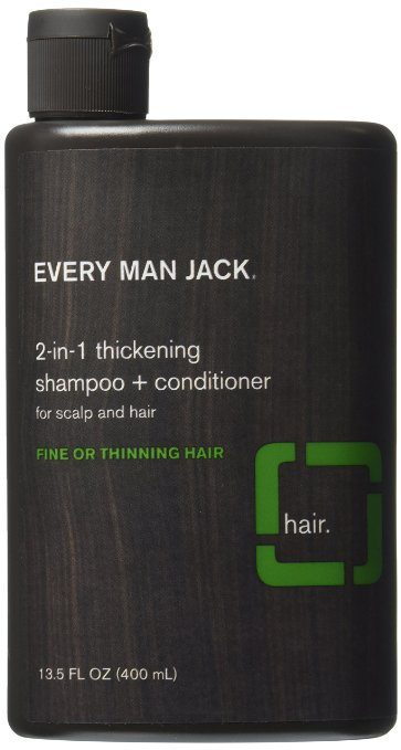 Every Man Jack 2-in-1 Thickening Shampoo plus Conditioner