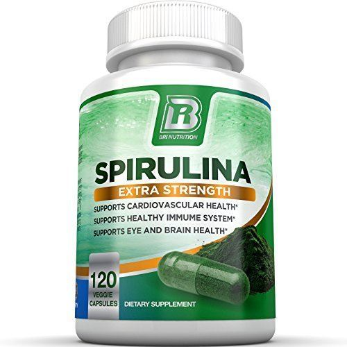 BRI Nutrition Spirulina -Maximum Strength