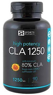 CLA Supplement Sports Research CLA 1250
