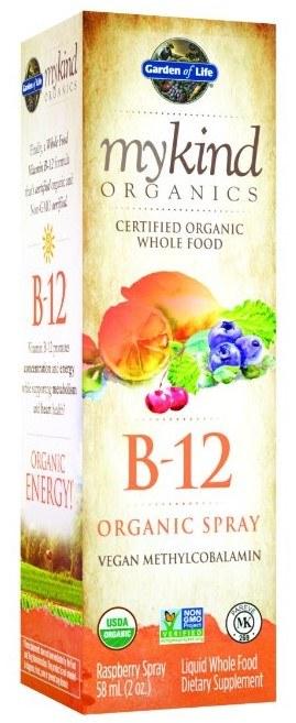 Garden of Life mykind Organics Organic B-12 Spray