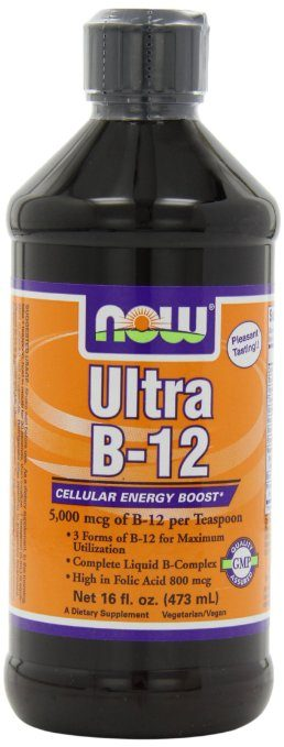 NOW Foods Ultra B-12 Liquid