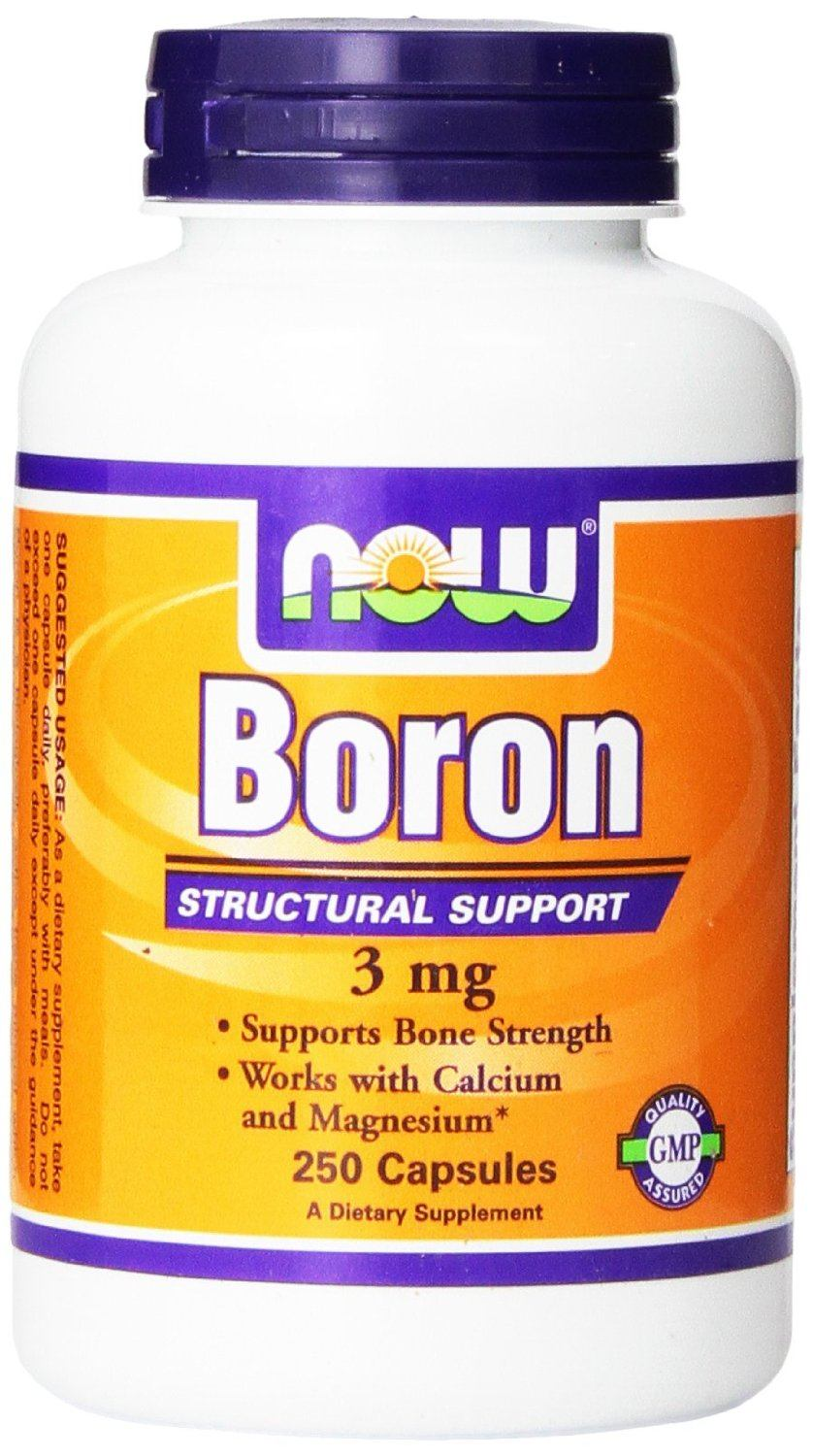 Now Foods 3mg Boron Capsules​