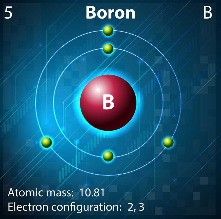 What does boron do