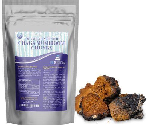 Ultra-Premium Chaga Mushroom Chunks
