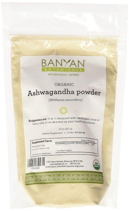 Banyan Botanicals Ashwagandha Powder