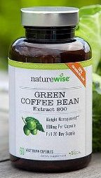 naturewise green coffee bean