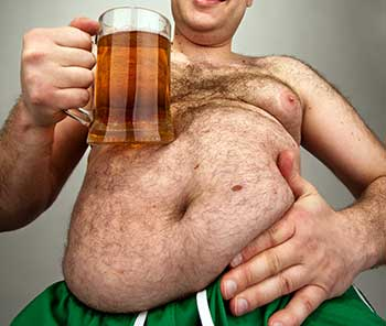 estrogen rich foods beer belly