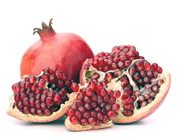 estrogen rich foods pomegranate
