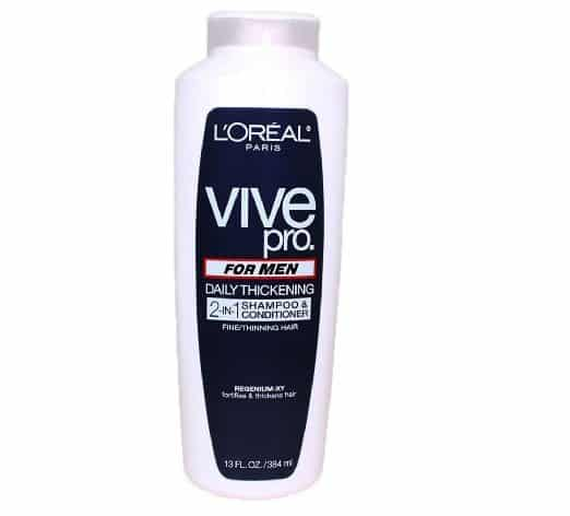 LOreal Paris Vive Pro For Men Daily Thickening 2-in-1 Shampoo & Conditioner