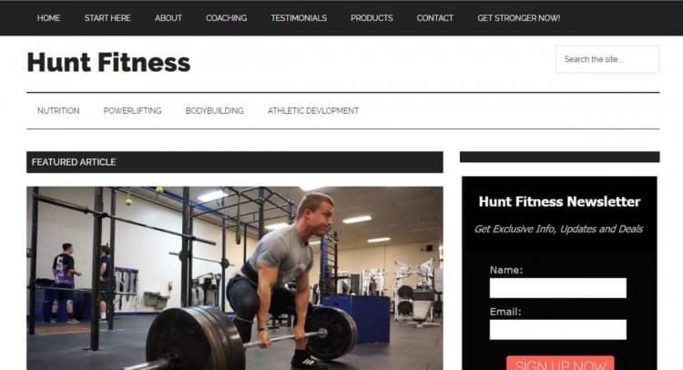 Kyle Hunt Fitness