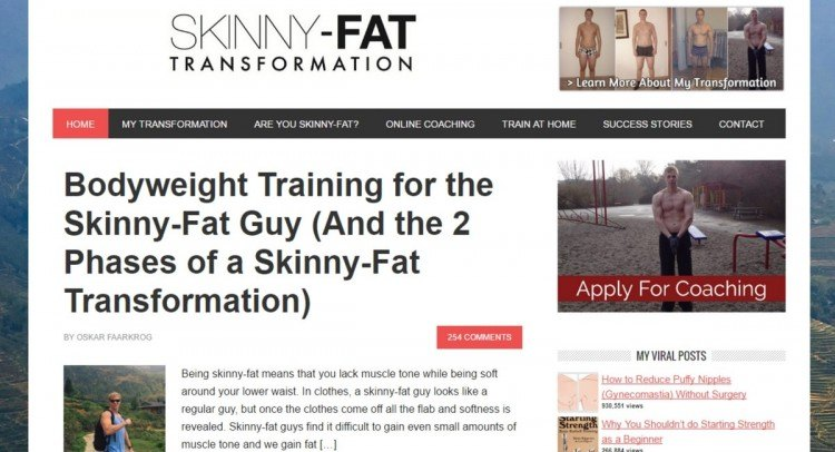 Skinny-Fat Transformation