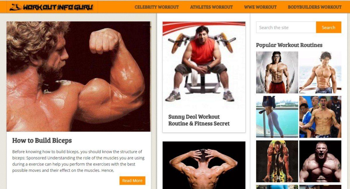 Workout Info Guru
