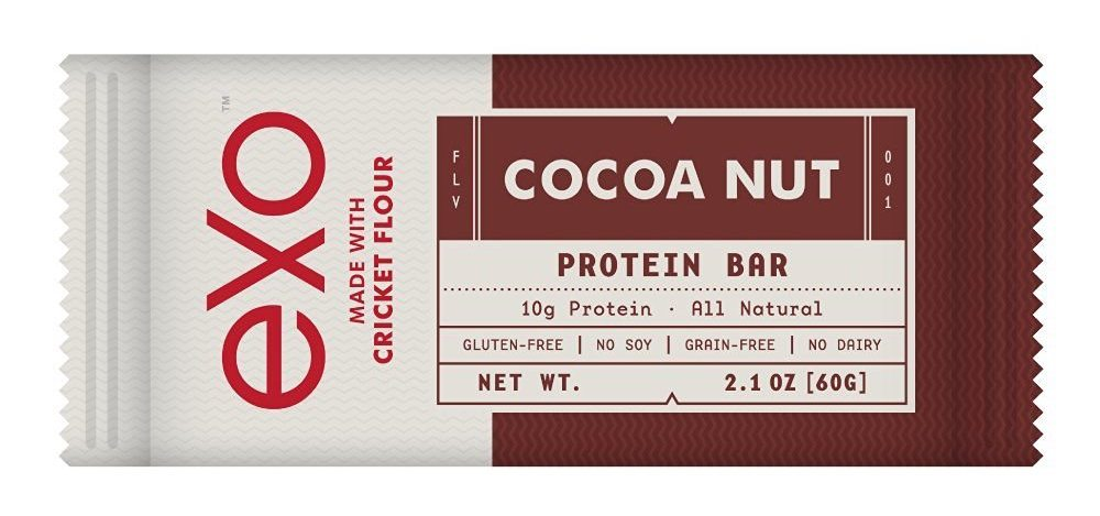 Insect Protein Powder - Exo Cricket Flour Protein Bars