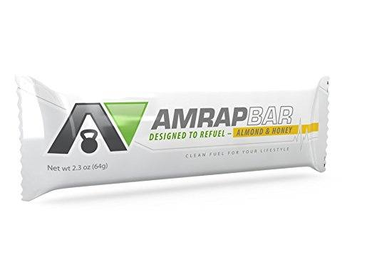 AMRAP BAR Almond & Honey - Paleo Protein Bars