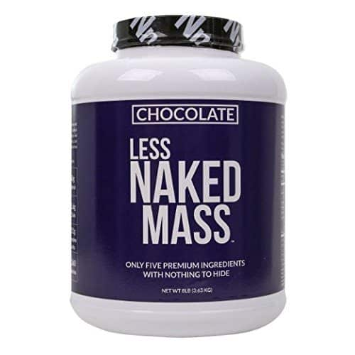 CHOCOLATE LESS NAKED MASS - Best Weight Gainer Supplements