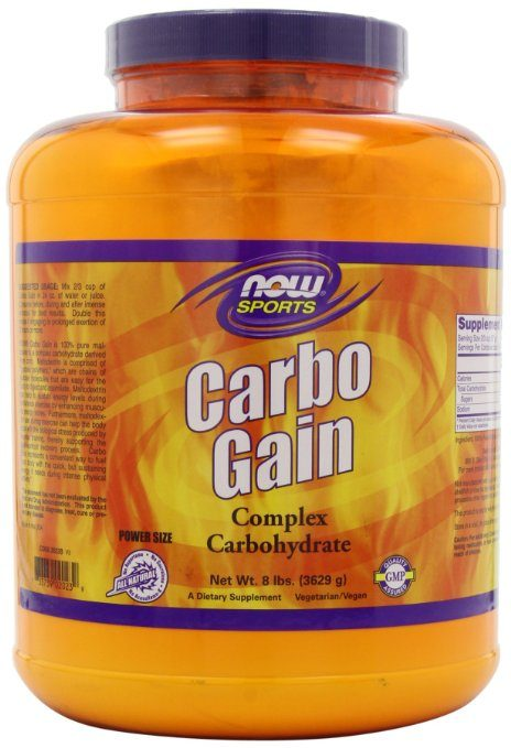 NOW Foods Carbo Gain - Best Weight Gainer Supplements