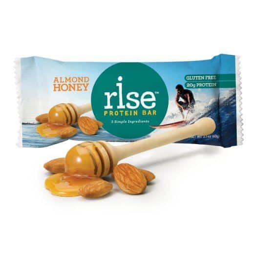 Rise Bar Gluten-Free, High-Protein Bars - Paleo Protein Bars