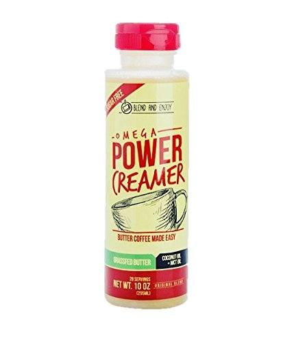 Omega PowerCreamer - The All-in-1 Grassfed Butter Creamer + Coconut Oil + MCT Oil