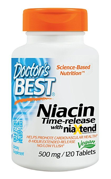 Doctors Best Real Niacin - Natural Vasodilators