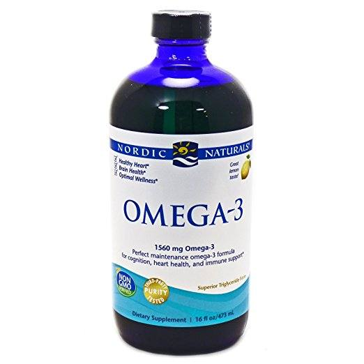 Nordic Naturals - Omega-3, Cognition, Heart Health, and Immune Support - Natural Vasodilators