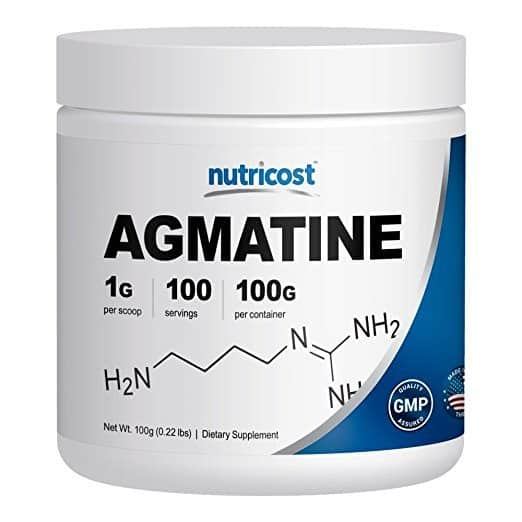 Nutricost Agmatine [100 GMS] - Pure Agmatine