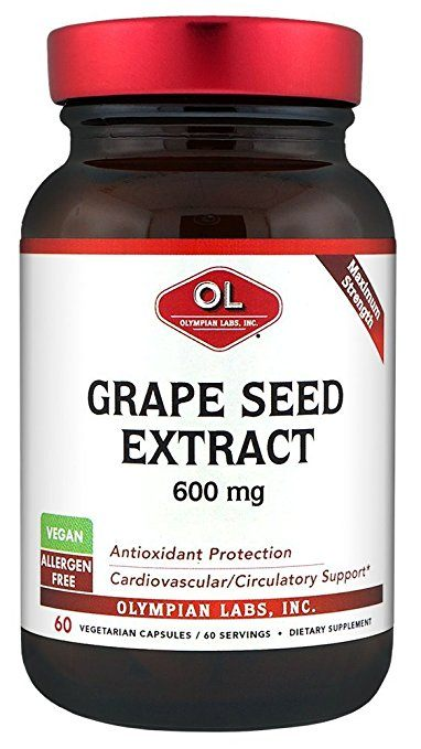 Olympian Labs Grape Seed Supplement - Natural Vasodilators