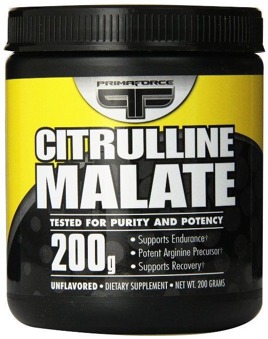 Primaforce, Citrulline Malate Powder - Natural Vasodilators
