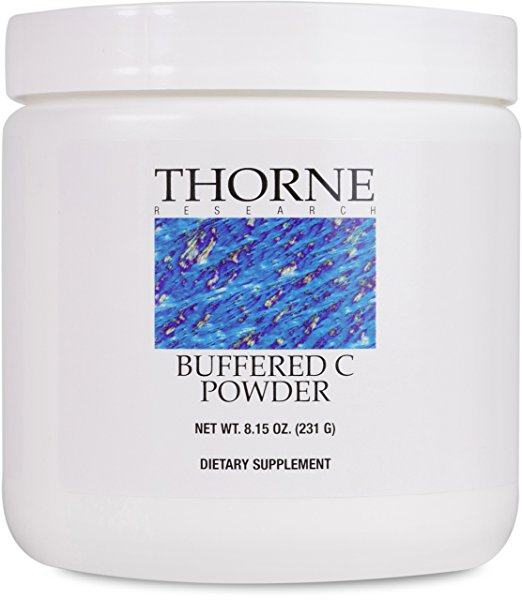 Thorne Research - Buffered C Powder - Vitamin C Supplement - Natural Vasodilators