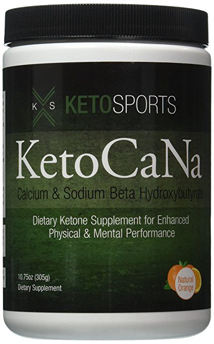 KetoSports KetoCaNa Dietary Ketone Supplement For Physical and Mental Performance