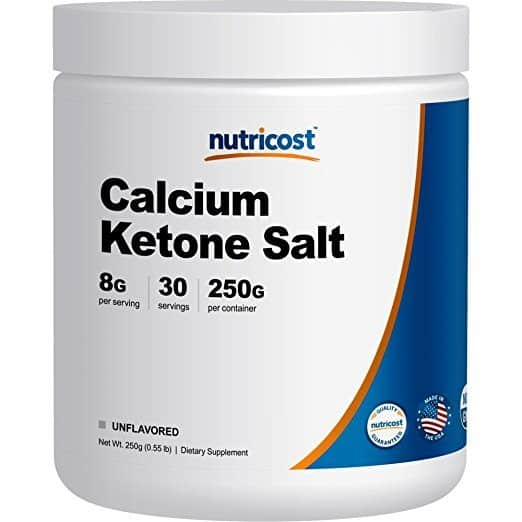 Nutricost Calcium BHB Salts, Exogenous Ketone Supplement