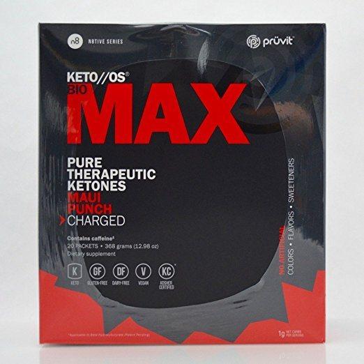 Pruvit KETO OS Bio MAX Pure Therapeutic Ketones