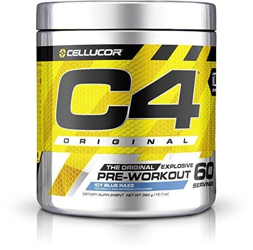 C4 Original Explosive Pre-Workout Supplement