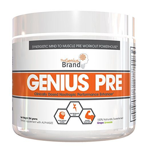 GENIUS Pre Workout - Nootropic