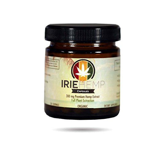 Irie Hemp Extract Capsules - CBD Oil for Sale