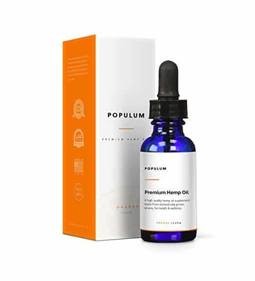 Populum Premium Hemp Oil Supplement - CBD Oil for Sale