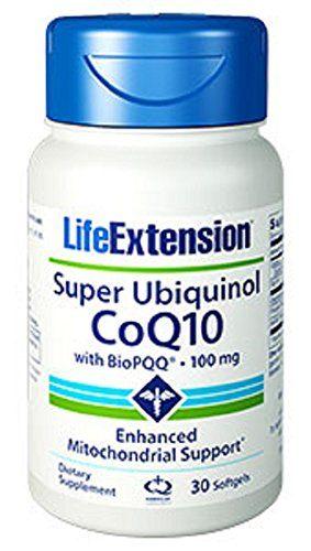Life Extension Super Ubiquinol CoQ10 With Biopqq Softgels