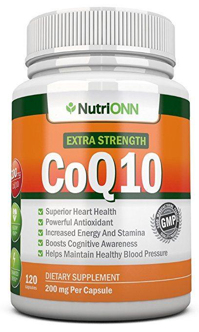 NutriONN's Extra Strength CoQ10