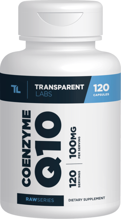 Transparent Labs Raw Series Coenzyme Q10