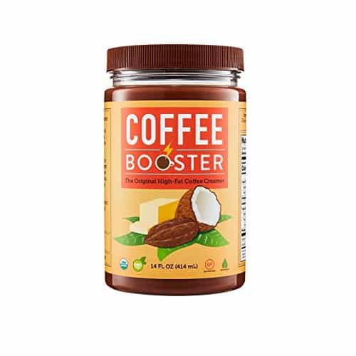 Coffee Booster - Top Quality Blend of Grass-fed Ghee, Coconut Oil, and Cacao