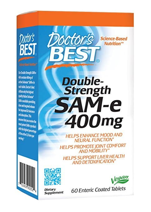 Doctor's Best SAM-e 400