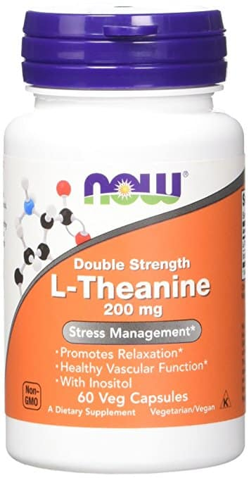 Now Foods L-Theanine 200mg
