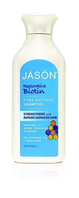Jason Pure Natural Shampoo, Restorative Biotin