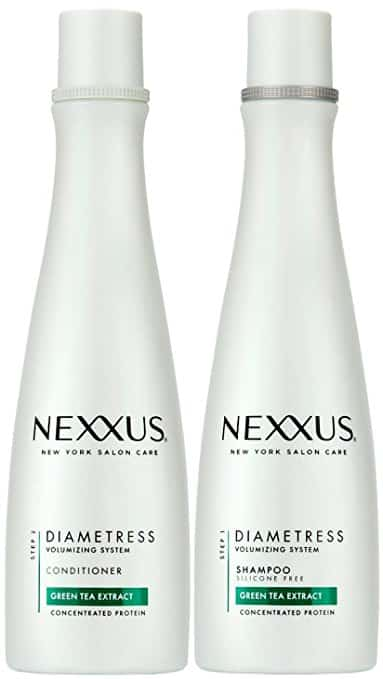 Nexxus Diametress Volumizing Combo Pack, Rebalancing Shampoo + Restoring Conditioner