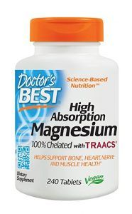 Doctor's Best High Absorption Magnesium Glycinate Lysinate